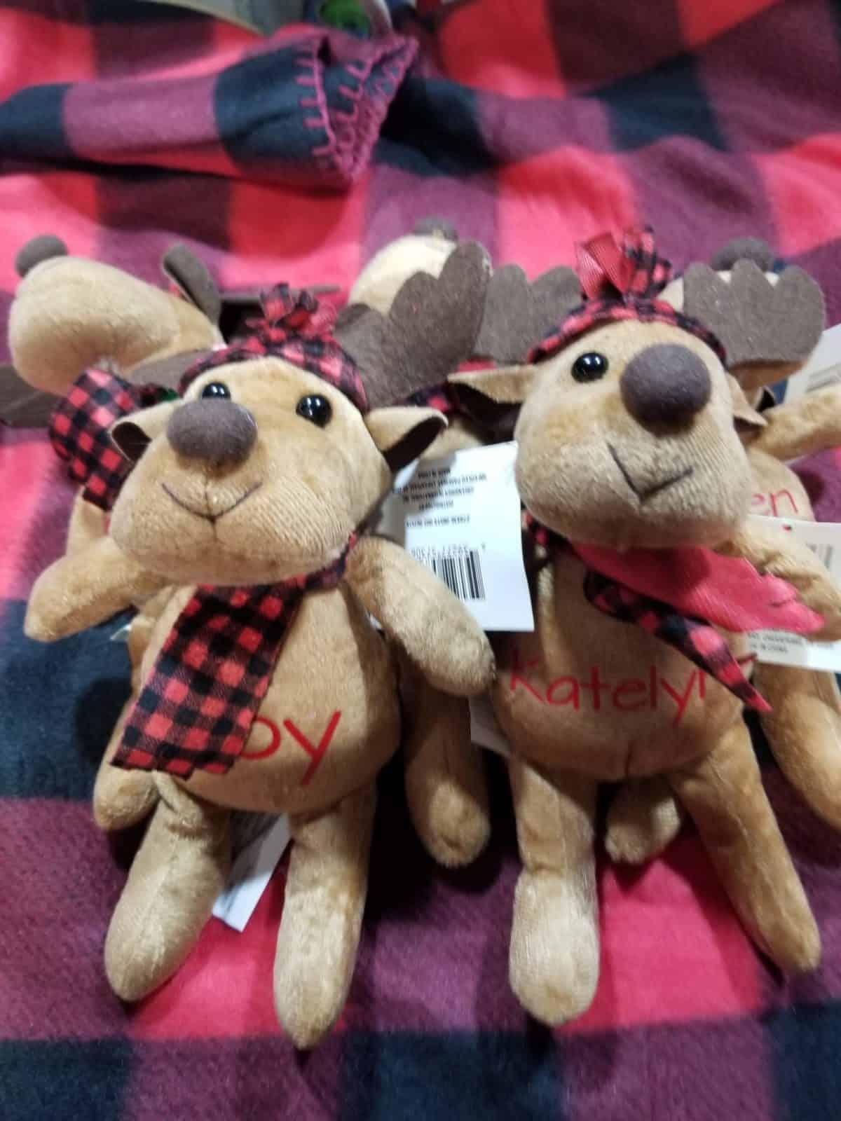 Personalized Reindeer