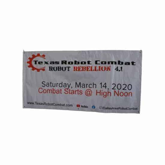 Texas Robot Combat Banner