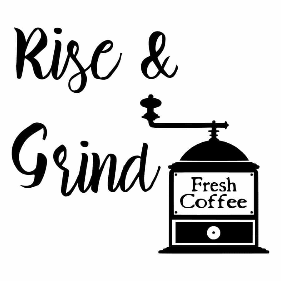 Rise & Grind design