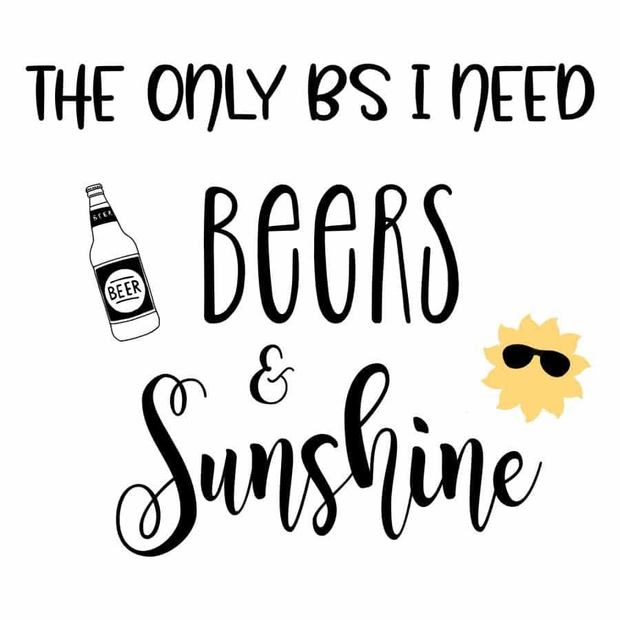 Beers & Sunshine design