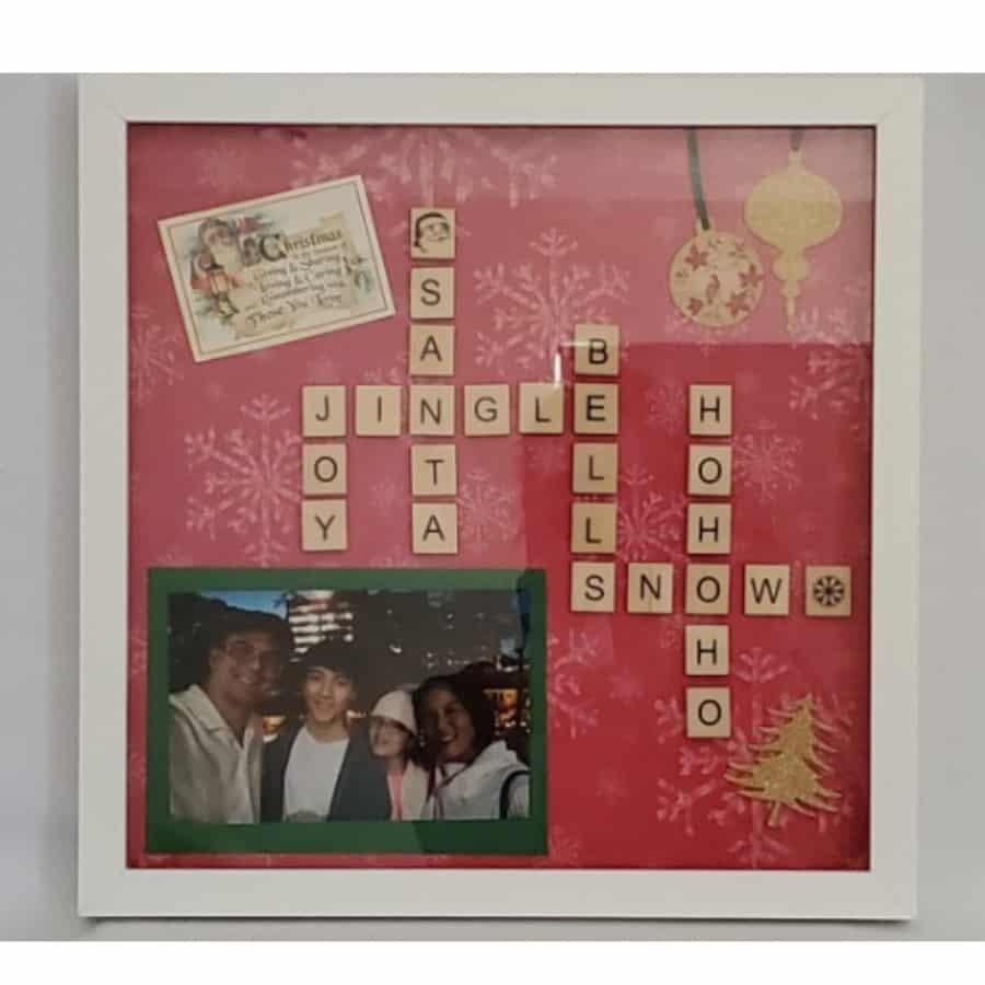 Christmas Family Scrabble