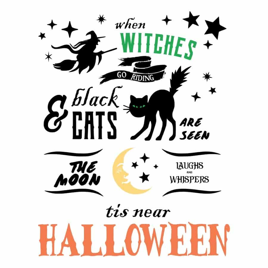 When Witches Fly design