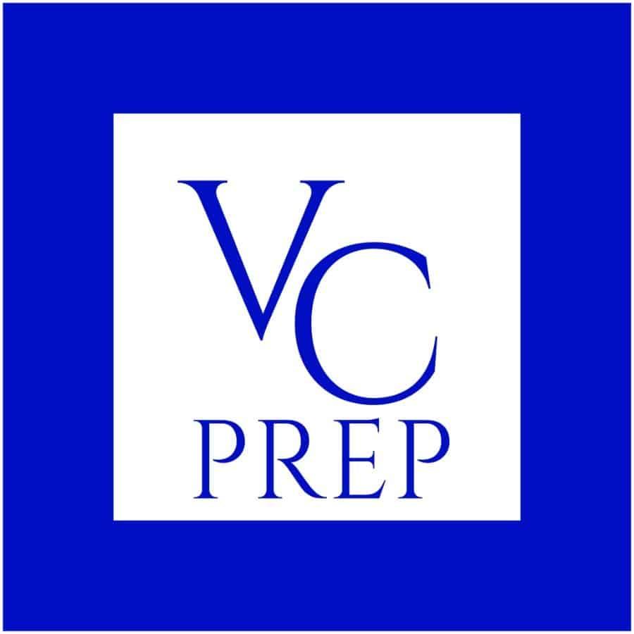 VC PREP custom logo design
