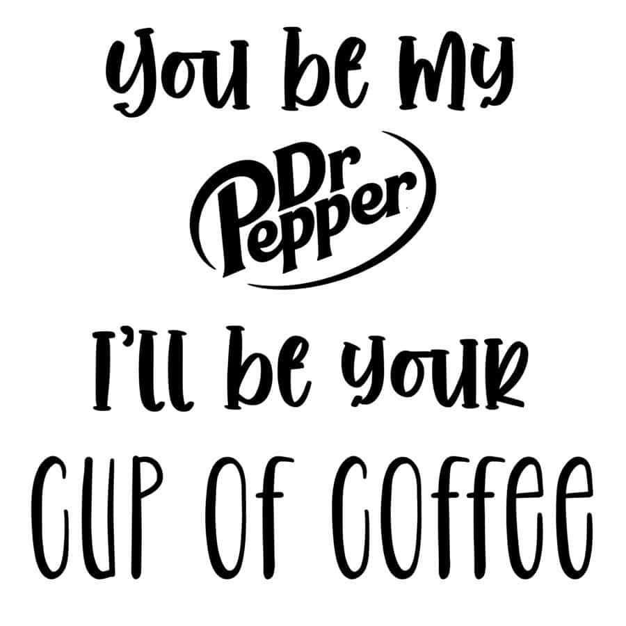 I'll Be Your Coffee design