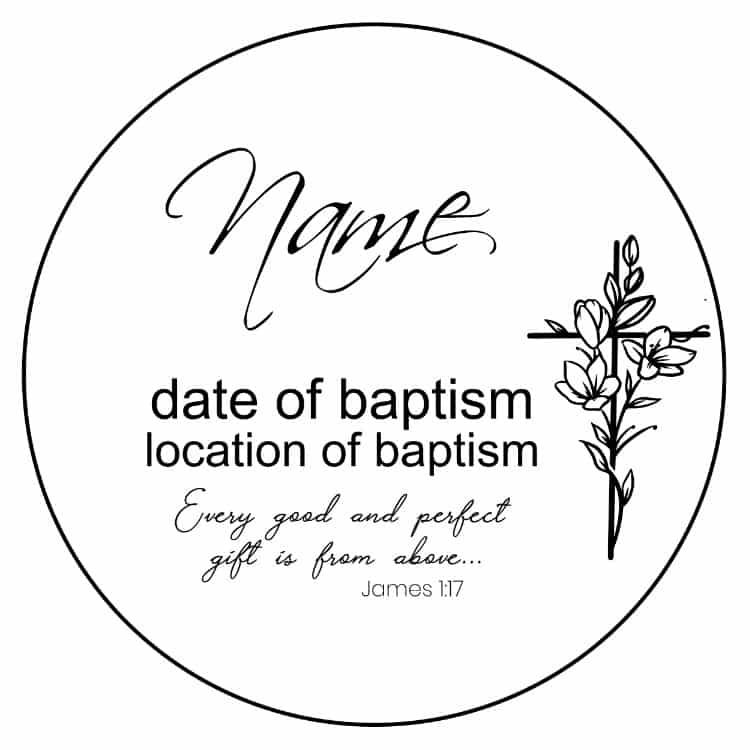 Baptism – Floral