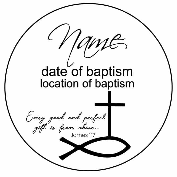 Baptism-fish