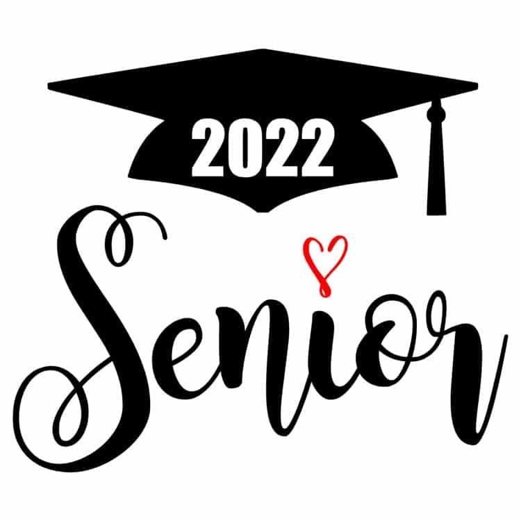 Senior 2022 Heart