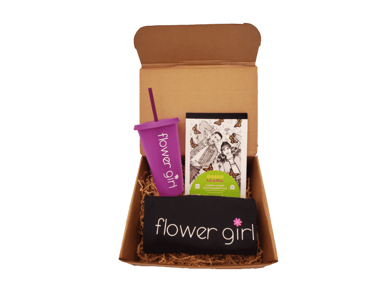 flower girl box example