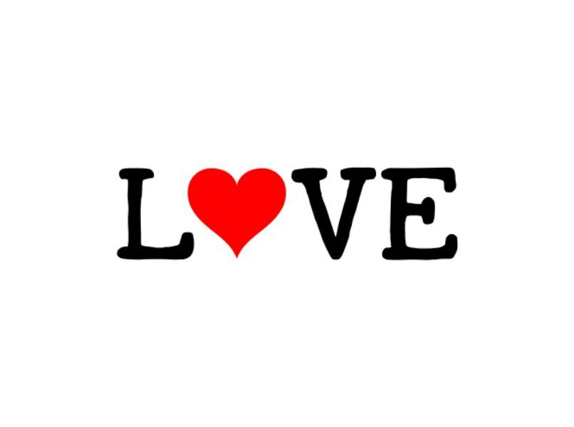 love heart design