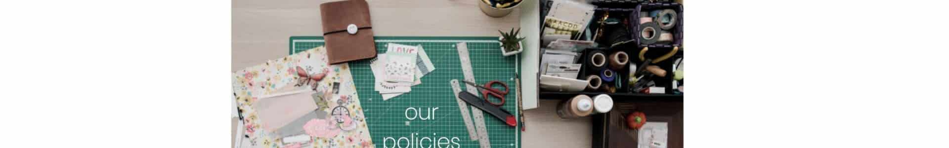 synergy craft studio policies